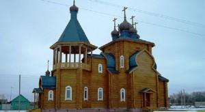 срубная церковь